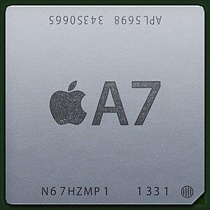 Apple A7 - Image: Apple A7 S5L9865 chip