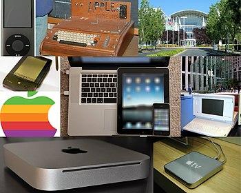 English: Mosaic of Apple Inc., using: File:App...
