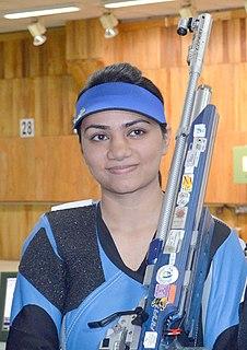 Apurvi Chandela Indian sport shooter