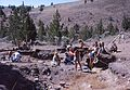 Archaeological excavations at a prehistoric American Indian site in North-Central Oregon (USA) 1977 (4484378907).jpg