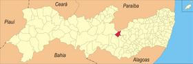 Localização de Arcoverde