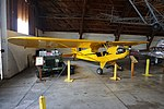 """Arkansas Air & Military Museum May 2017 13 (1944 Piper J-3 Cub and 1946 Willys CJ-2A """"Jeep"""").jpg"""