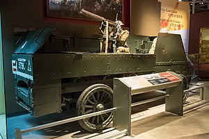 Armoured Autocar - The sole surviving Armoured Autocar at the Canadian War Museum