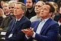 Arnold Schwarzenegger and John Kasich at the first New Way California event in Los Angeles (39150326080).jpg