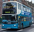 Arriva bus 7431 Dennis Trident Alexander ALX400 W396 RBB in Newcastle 9 May 2009 pic 1.jpg