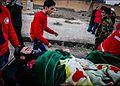 Arrival of residents of Al-Fu'ah and Kfrya to Aleppo by tasnimnews.com05.jpg