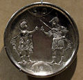 Arte costantinopolitana, piatti in argento con storie di david, 629-30, da karavas a cipro, 05.JPG