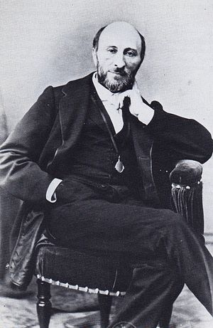 Arthur Saint-Léon - Photo by Bruno Braquehais of Maestro Arthur Saint-Léon. Paris, circa 1865