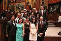 Asambleístas al termino de la sesión solemne, en la que el presidente de la República, Rafael Correa Delgado, presentó su informe a la nación (6030498331).jpg