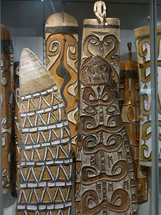 Asmat people - Asmat Shields.