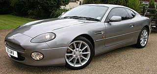 Grand Tourer produced by British automobile manufacturer Aston Martin as a successor to the DB6 from 1994–2004