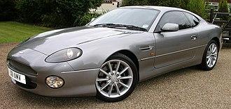 Aston Martin DB7 - Aston Martin DB7 V12 Vantage