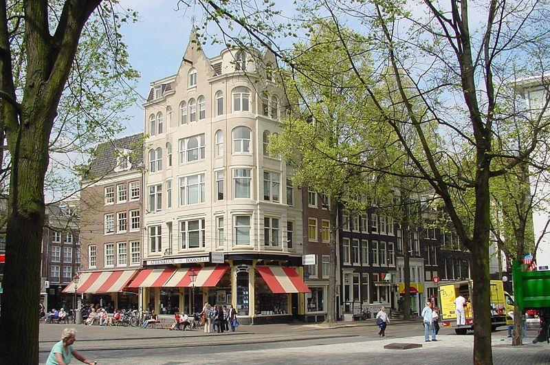 Librairie Athenaeum Boekhandel sur le Spui à Amsterdam. Photo de Daan Stoffelsen.