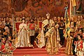 Au service des Tsars - George Becker - Le couronnement de l'empereur Alexandre III et de l'impératrice Maria Ferodovna - 1888 - ЭРЖ-1637 - 002.jpg