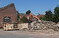 Auberchicourt - Démolition des Grands bureaux de la Compagnie des mines d'Aniche le 2 septembre 2013 (05).JPG