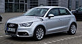 Audi A1 Sportback 1.2 TFSI Ambition – Frontansicht, 9. Juni 2012, Hilden.jpg