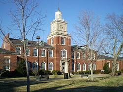 The Browning Building at Austin Peay State University