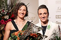 Austrian Sportspeople of the Year 2014 winners 14 Jolanta Ogar Lara Vadlau.jpg
