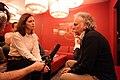 Austrian World Music Awards 2014 Interview Ulrich Doberenz Martina Laab.jpg