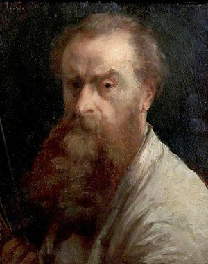 Charles Louis Gratia - Self portrait