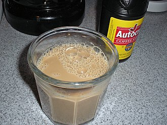 Cuisine of New England - Coffee milk, the official state drink of Rhode Island
