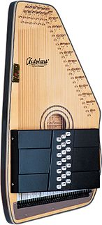 Autoharp musical string instrument