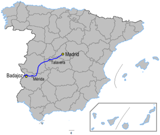 road in Spain