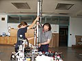 Autumn and John Siegel making a 17ft long Robot Arm for NASA.jpg