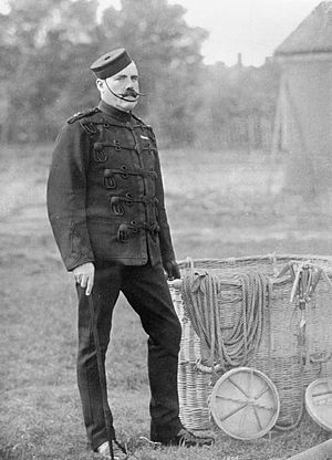 James Templer (balloon aviator) - Image: Aviation in Britain Before the First World War RAE O956