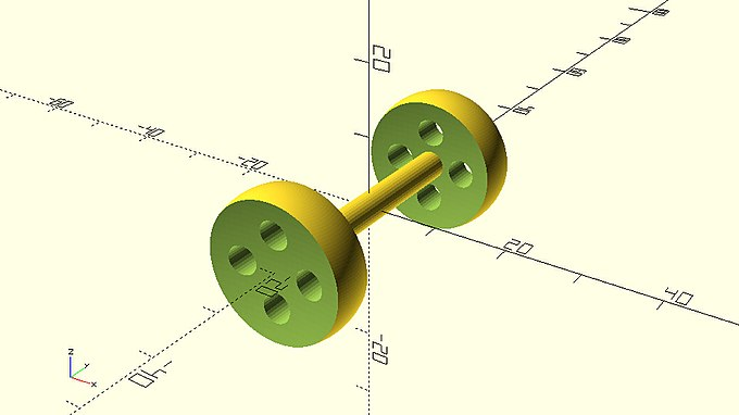 Axle with complex wheelset from parameterized module.jpg