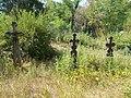 Böjt Street Burial Park, crosses, 2017 Dabas.jpg