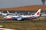 B-5422 - Air China - Boeing 737-89L(WL) - Phoenix Livery - PEK (16324178519).jpg