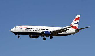 Comair (South Africa) - Comair Boeing 737-400  in British Airways livery