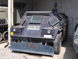 Gendarmerie (Belgium) - BDX (APC).