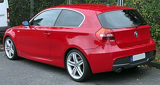 BMW 1 Series (E87) - E81 3-door hatch, Europe
