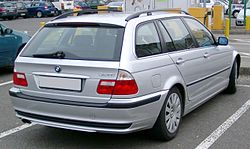 BMW E46 Touring rear 20080131.jpg