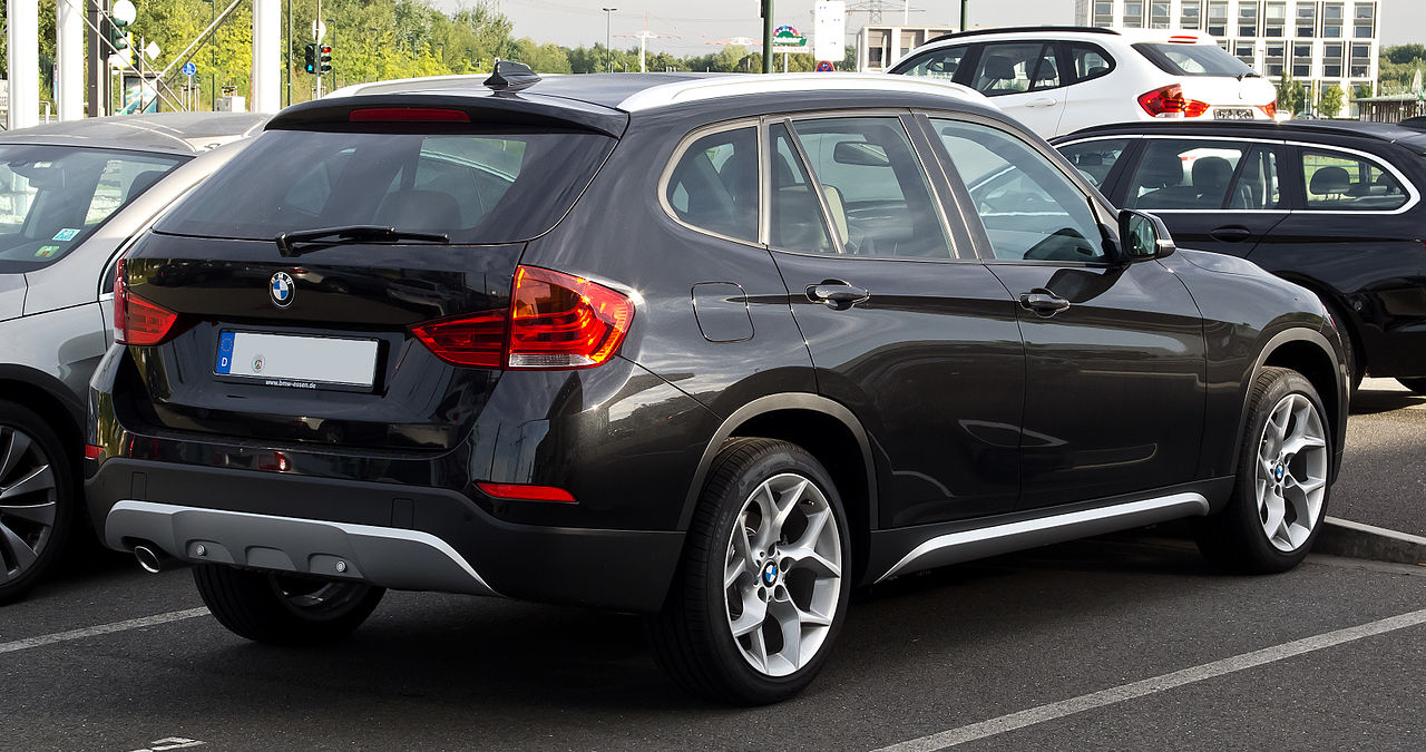 Fichier Bmw X1 E84 Facelift Heckansicht 2 September