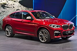 BMW X4 M40d Presentation Genf 2018