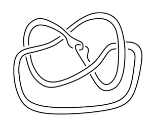 Satellite knot - Example 2: The Whitehead double of the figure-8.