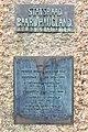 Baard Haugland memorial from 1919 in Leirvik, Stord, Norway. Plaques. Photo 2018-03-14 f.jpg