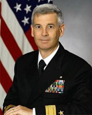 Mark W. Balmert - Rear Admiral Mark W. Balmert