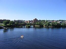 Skyline of Bangor