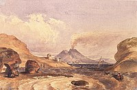 Barabas, Miklos - Vesuvius Seen from the Island of Capri (1835).jpg