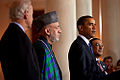 Barack Obama, Hamid Karzai & Asif Ali Zardari after trilateral meeting 5-6-09 2.jpg
