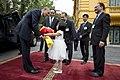 Barack Obama and Tran Dai Quang Arrival Ceremony 01.jpg