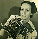 Barbara Morgan with Graflex 1940.jpg