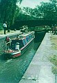 Barge in a lock of the Grand Union Canal, Berkhamsted in 1970 - geograph.org.uk - 1754803.jpg