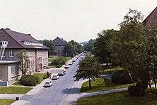 Barker Barracks looking east c1980