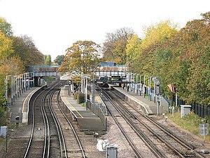 Barnes railway station
