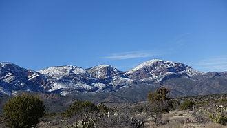 Mazatzal Mountains - Image: Barnhardt Trail 43